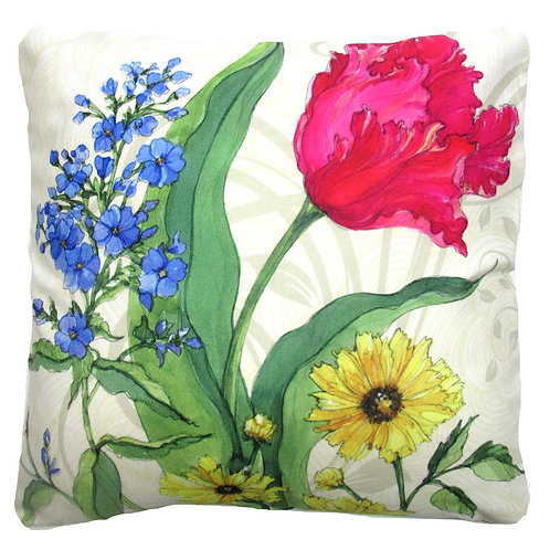Floral 2, SR702LCS, 18x18 only