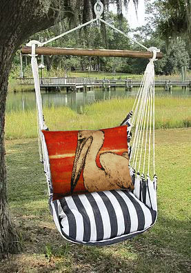Pelican Pillow and TB Swing Set, TBPEL3-SP