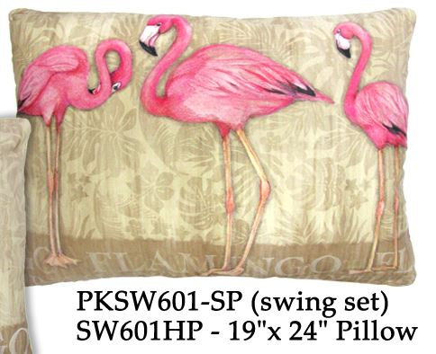 Flamingo, SW601, 2 sizes(18x18has single flamingo)