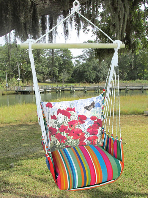 Red Poppies Swing Set, LJTC901-SP