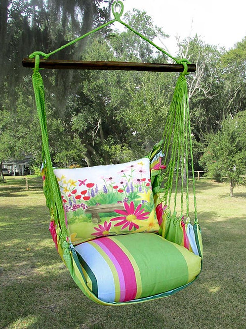 FL Swing Set, Garden Bench, FLBC602-SP