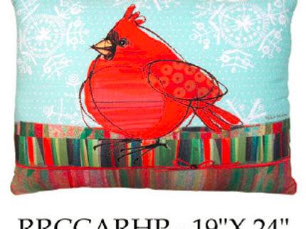 Red Cardinal, RRCCARHP, 19x24