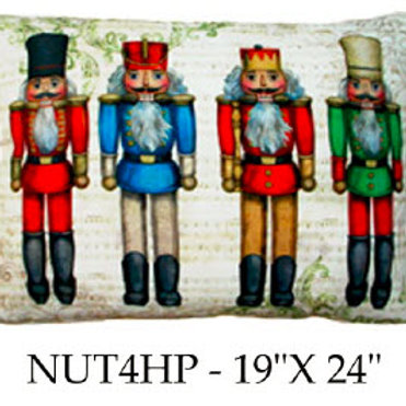 Nutcrackers, NUT4HP, 19x24
