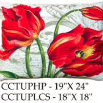 Tulips Pillow, CCTUP, 2 sizes