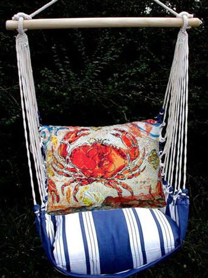 MA Swing Set w/ Crab Pillow, MAFCCR-SP