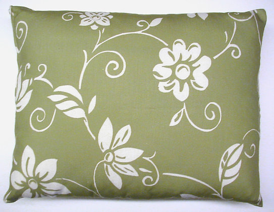 Summer Toile Green Pillow, STGRHP, 19x24
