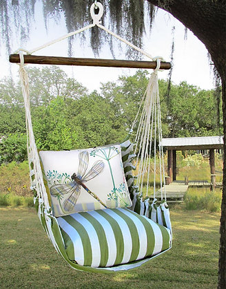 Dragonfly Pillow & Swing Set, SPRR604-SP