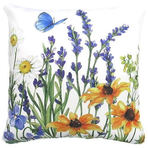 "SR205LCS, Floral Watercolor, 18""x18"""