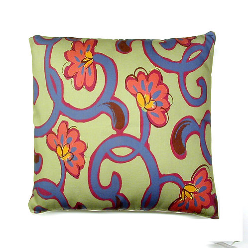 Vine Pillow, VNMMLCS, 18x18