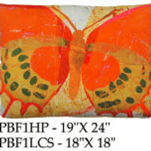 Butterfly Pillow, PBF1, 2 sizes