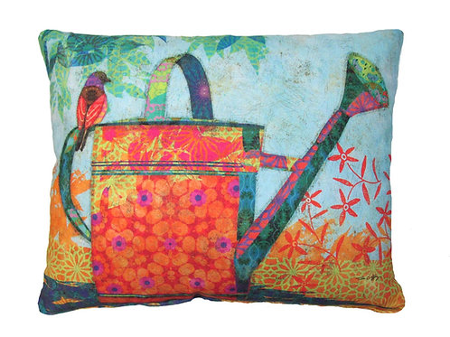 Watering Can Pillow, TC505LCS, 18x18 only