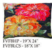 Flowers Pillow, FVFB, 2 sizes