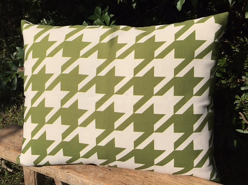 Houndstooth Pillow, HTG, 2 sizes