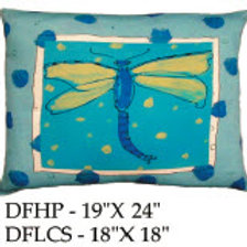 Dragonfly Pillow, DF, 2 sizes