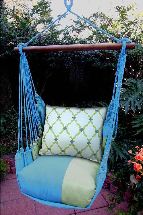 Meadow Mist Swing Set w/ Patterned Pillow, LH3MMHP