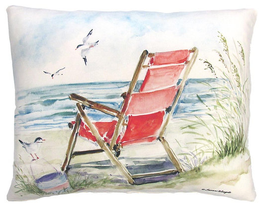 Red Beach Chair, SW905, 2 sizes
