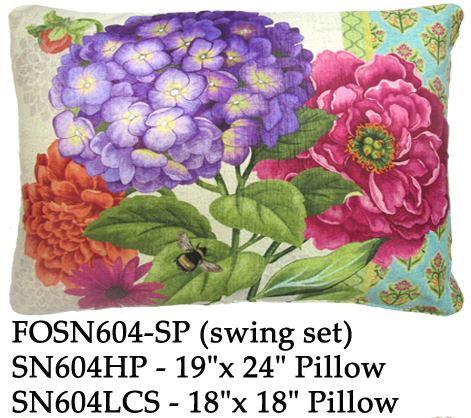 Hydrangea, SN604, 2 sizes