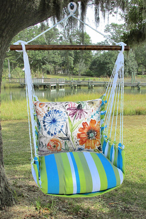 Watercolor Floral Swing Set,  BBLS203-SP