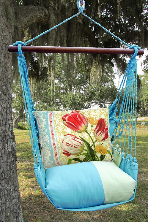 MM Swing Set w/ Tulips 1 Pillow, MMSN701-SP