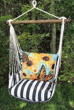 TB Swing Set w/ Butterflies Pillow, TBSR503-SP