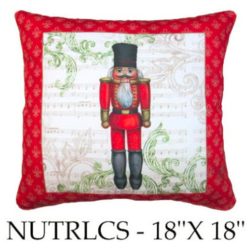 Nutcracker, Red, NUTRLCS, 18x18