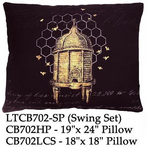 Beehive on Black, CB702 2 sizes