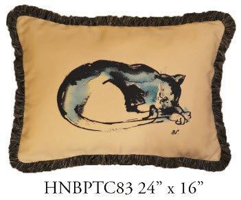 Cat Pillow, 24x16, HNBPTC83