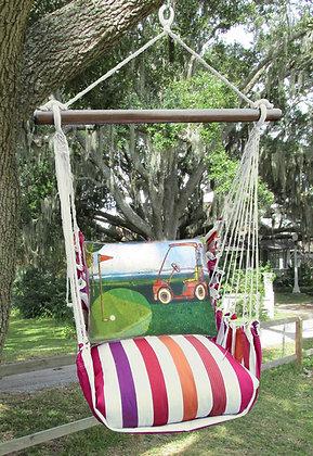 CR Swing Set w/ Golf Cart Pillow, CRRR620-SP