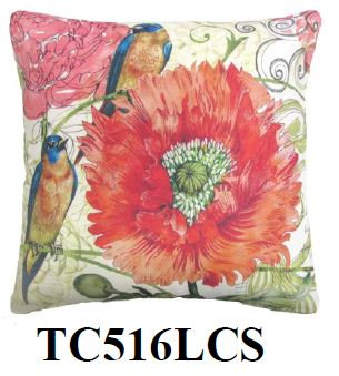 Bird & Flower 2, TC516LCS, 18x18 only