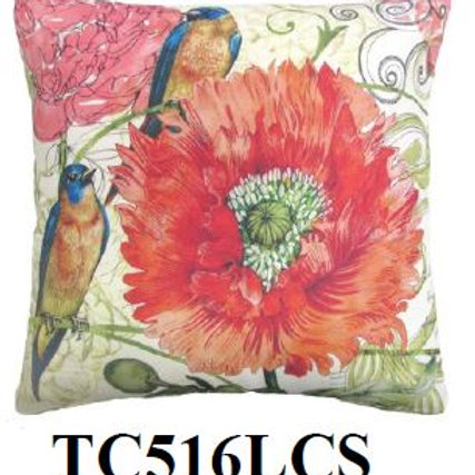 Bird & Flower 2, TC516LCS, 18x18 only