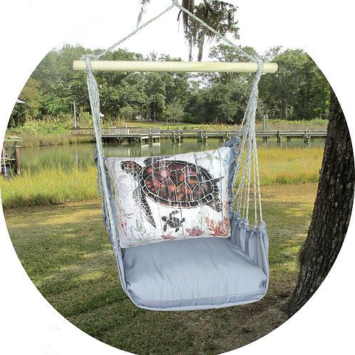 Turtle Swing Set w/ Gray, GRSW801-SP