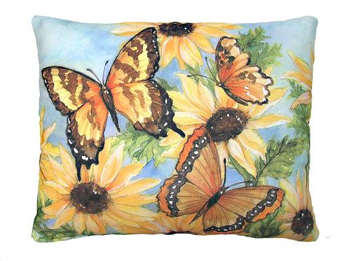 SC Pillow, Butterflies, SR504HP, 19x24