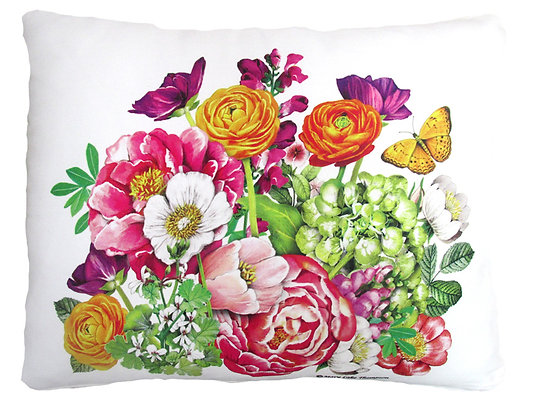 Summer Bouquet Pillow, MLT802, 2 sizes