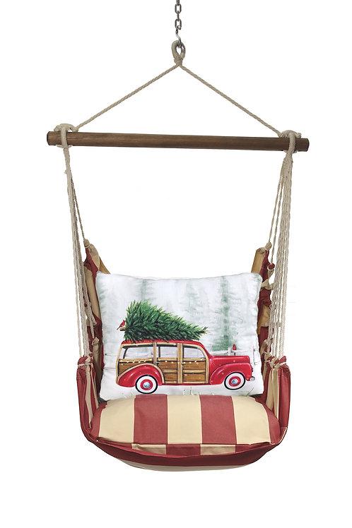 Christmas Tree on Car Swing Set, AMDM901-SP