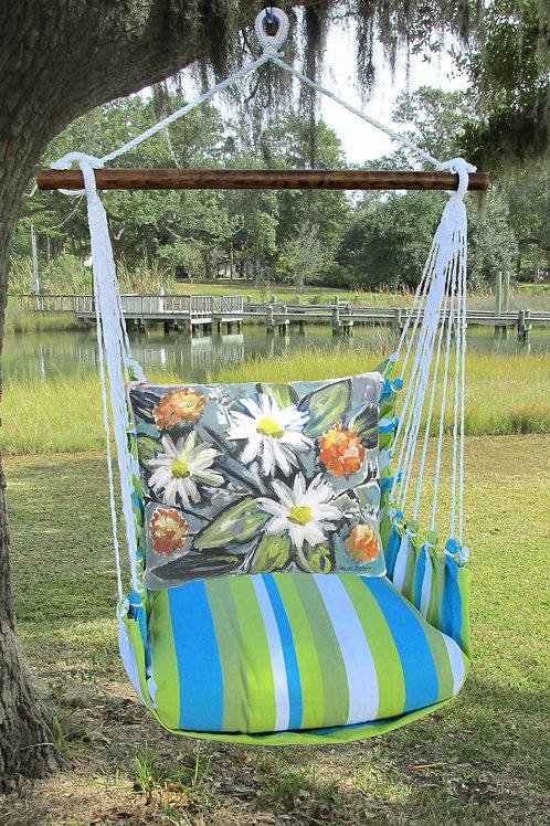Impressionist Flowers Swing Set,  BBLS901-SP