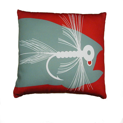 Fishing Lure Pillow, GFFLCS, 18x18