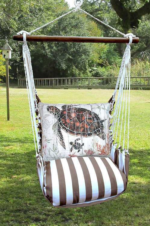 Sea Turtle & Baby Swing Set, SCSW801-SP