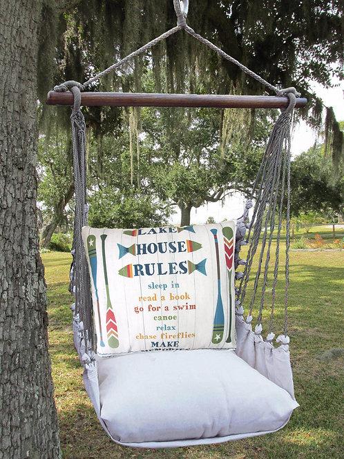Lake House Rules Swing Set, LTSN801-SP