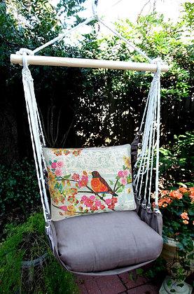 CH Swing Set w/ Bird on Branch Pillow, CHTC603-SP