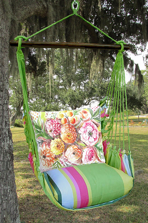 Painterly Bouquet Swing Set, FLLS902-SP