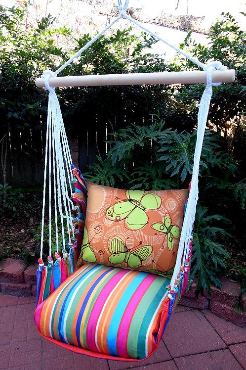 Le Jardin SwingSet w/ Butterflies, LJ119SW-RRSBHP