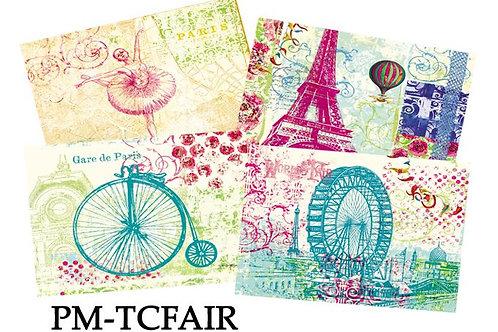 Placemats - World's Fair, set of 4, PM-TCFAIR
