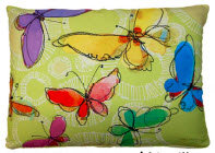 LJ Pillow, Butterflies, RRWBHP, 19x24