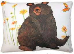 SP Pillow, Bear, RR506HP, 19x24