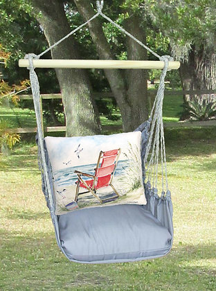 Beach Chair on Gray Fabric, GRSW905-SP