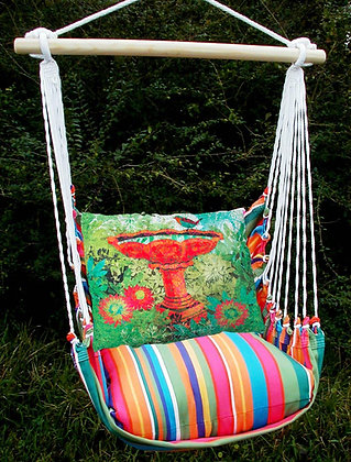 LJ Swing Set w/ Birdbath Pillow, LJTCBB-SP