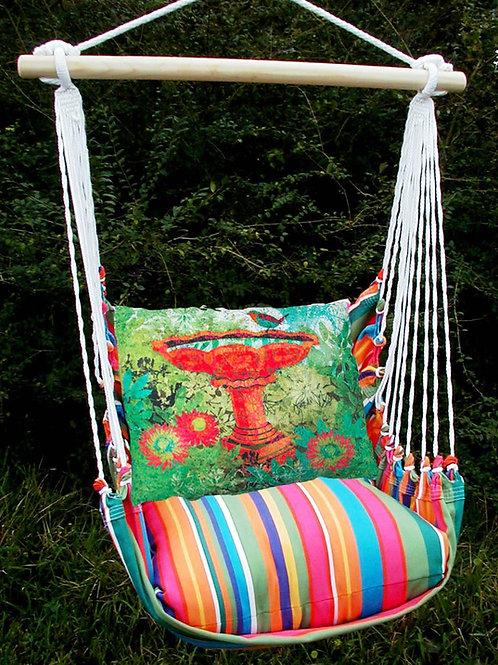 LJ Swing Set w/ Birdbath Pillow, LJTCBB-SP