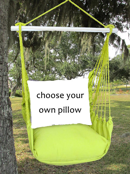 Lime Swing Set (Without Back Pillow)