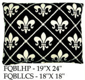 French Quarter Black, FQBL, 2 sizes