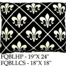 French Quarter Black, FQBL, 2 sizes
